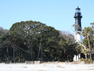 Hunting Island Lighthouse only a few miles away!