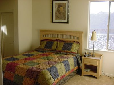 Las Vegas house rental - Bedroom #3 - Queen Bed & cable TV's in all bedrooms.