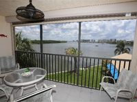 This beautifully renovated, one bedroom, two full bath condo capitalizes on stunning sunrises and panoramic views of Estero Bay.