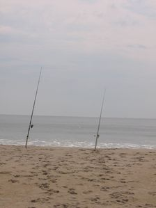 Vacation Homes in Ocean City house rental - Fishing off of Assateague Island
