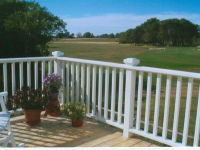 Second Floor Deck Viewing Golf Course