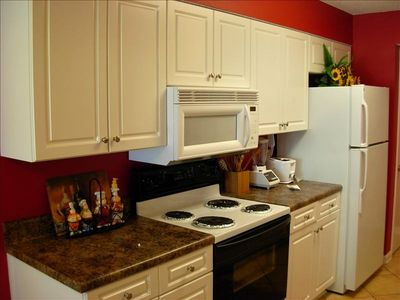 Fully equipped Kitchen including built-in microwave and dishwasher