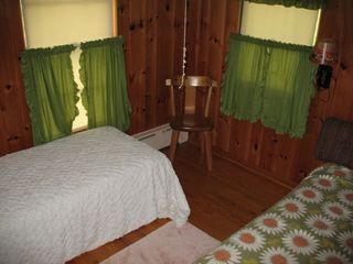 Lake Placid house photo - bedroom 3, sleeps two, great for kids
