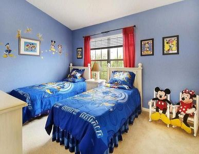 Charming Disney themed en-suite bathroom