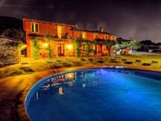 Lucca villa photo - Casa Mennone by night