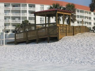 Okaloosa Island condo photo - Just one of the 2 walk ways to the beach