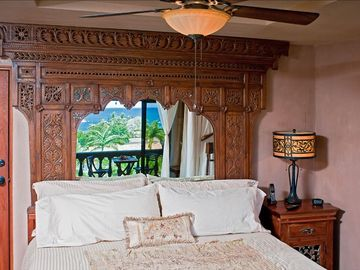 The Master Bedroom is a dream and you will have sweet dreams in these regal digs