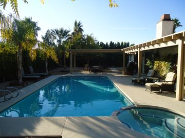 Palm Springs house rental - Back Yard