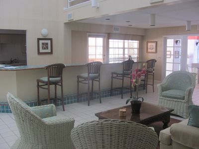 Main area in clubhouse