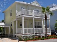 Keys home in Anglers Reef with ocean view, dock, community pool & private beach