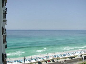 Surfside Resort condo rental - Incredible view of the ocean from balcony