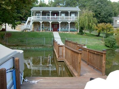 View of the Back of the House from the Pier