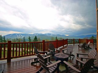 Fire Pit and Deck w Amazing Sunday River Views - Newry house vacation rental photo