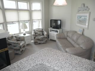 Manistee condo photo - Living Room with fiireplace