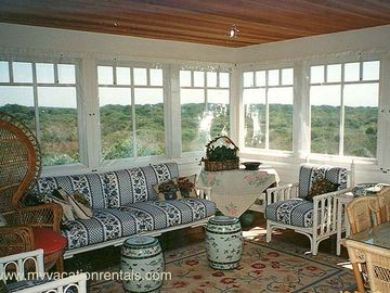 Sun Room opens to deck
