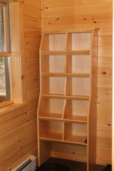 Newry house photo - Mudroom Storage Shelves