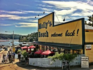 World famous Molly's Reach