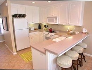 Fully equipped kitchen with state of the art appliances