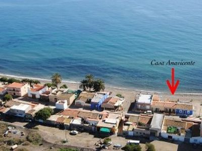 Fisherman's house on the beach overlooking the sea. Experience Puntas experience Spain!