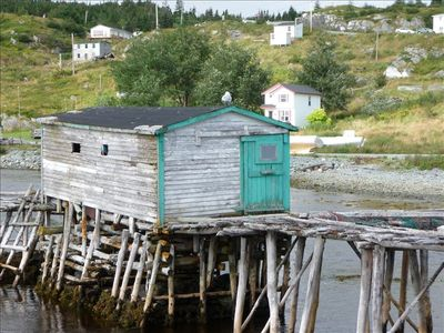 Fishing shack at Brigus South