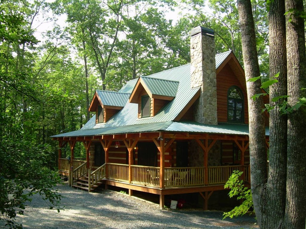 Murphy nc vacation rentals murphy nc chalet rental homeaway for Elegant log homes