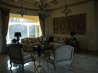 Bonita Springs estate photo - Formal Living Room