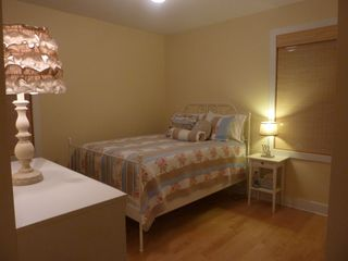 New Buffalo house photo - Bedroom with queen bed.