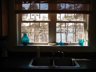 Brewster house photo - Lake view from Kitchen sink
