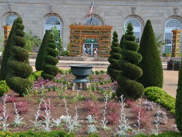 Botanical Gardens, next to U.S. Capitol complex on Pennsylvania Avenue.
