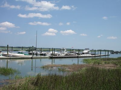 The beauty of hte low country as seen from the Moss Creek marina