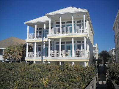 5  BR 4 BA Gulf Front up on the dunes of Seagrove Beach near Seaside