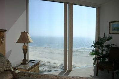 Master Bedroom with Fabulous View Right out on the Beach