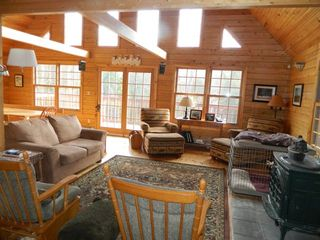 Carrabassett Valley house photo - Living room area