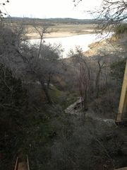 Spicewood house photo - Lake view from back patio 2/13/2013