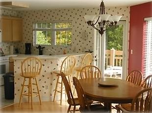 KITCHEN/DINING ROOM SEATS 9