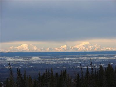 Mt. Mckinley and Foraker.