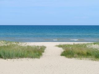 Oscoda house photo - beach from house