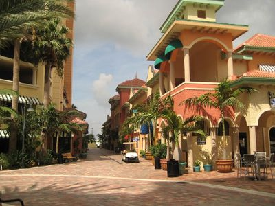 Cape Coral condo rental - Shopping at Cape Harbour