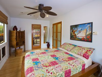 Anahola house rental - Guest Room with Full Bed.