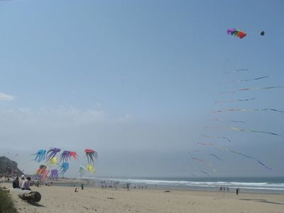 KITES - UNOBSTRUCTED VIEWS ON SANDY BEACH - DIRECTLY ON OCEAN - TAKEN FROM UNIT