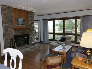 Gatlinburg condo photo - Great Room with Stone Fireplace
