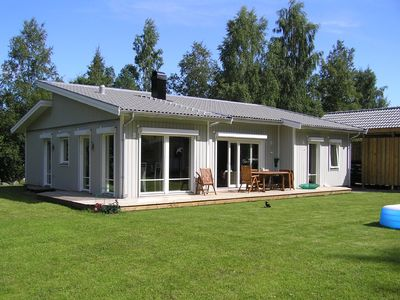 Luxurious home for winter with sauna for 6 persons, near Lake Vättern Hjo