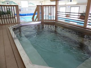 Dillon condo photo - Large indoor jetted hot tub.