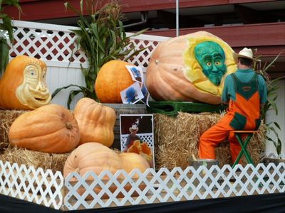 Pumpkin Festival is mid October every year.