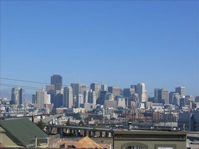 Some of the panoramic city views seen from Potrero Hill