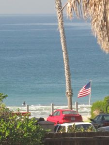 Pacific Beach apartment rental - Views from the living room/porch