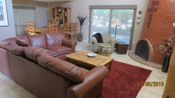 Rio Verde house rental - Just steps from the foyer: Welcome to your living room.