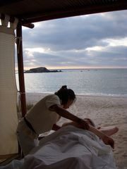 Punta Mita condo photo - Spa treatments on the beach make things even more relaxing...