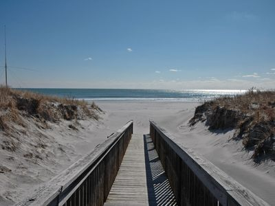 Brigantine condo rental - Walk Right Out To The Beach