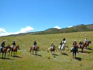 Fairplay cabin photo - Horseback riding, white water rafting in Buena Vista & the Royal Gorge are close